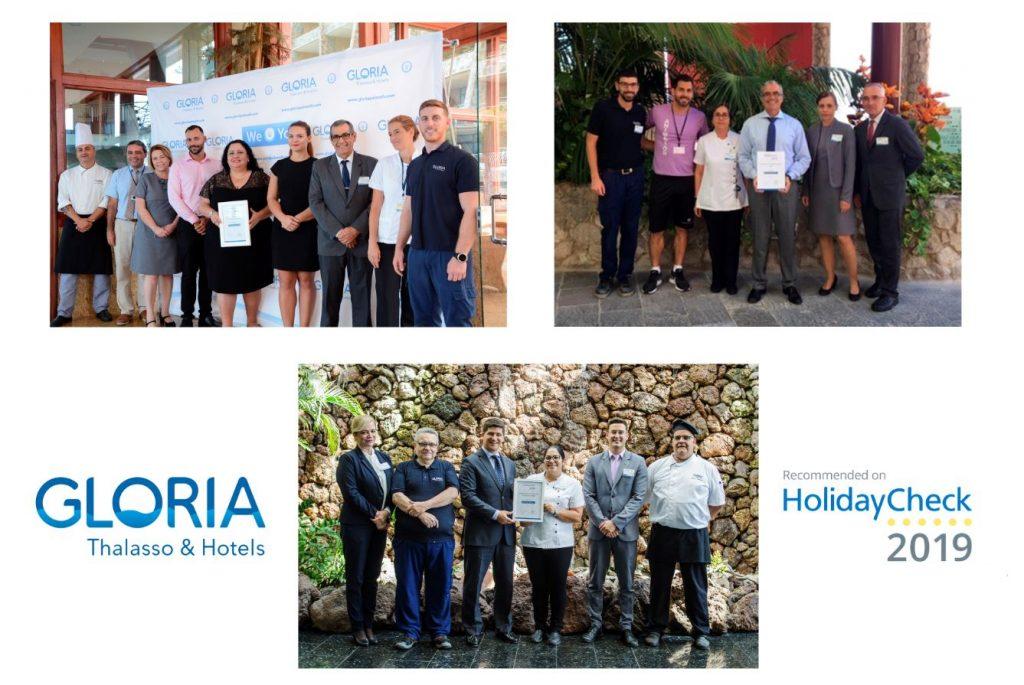 Premios HolidayCheck - 3 Hoteles - BR